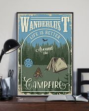 Camping Around The Camfire 11x17 Poster lifestyle-poster-2