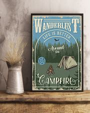 Camping Around The Camfire 11x17 Poster lifestyle-poster-3