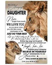 My Daughter I Love You Dad 11x17 Poster front