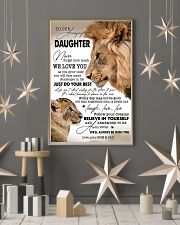 My Daughter I Love You Dad 11x17 Poster lifestyle-holiday-poster-1
