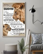 My Daughter I Love You Dad 11x17 Poster lifestyle-poster-1