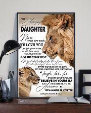 My Daughter I Love You Dad 11x17 Poster lifestyle-poster-2