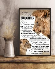 My Daughter I Love You Dad 11x17 Poster lifestyle-poster-3