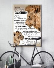 My Daughter I Love You Dad 11x17 Poster lifestyle-poster-7