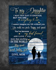 Family To My Daughter Baby 11x17 Poster aos-poster-portrait-11x17-lifestyle-12