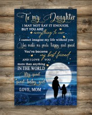 Family To My Daughter Baby 11x17 Poster aos-poster-portrait-11x17-lifestyle-14