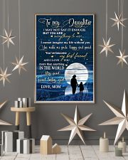 Family To My Daughter Baby 11x17 Poster lifestyle-holiday-poster-1