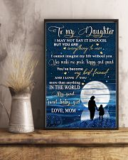 Family To My Daughter Baby 11x17 Poster lifestyle-poster-3