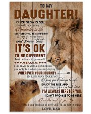 Family My Daughter Dad 11x17 Poster front