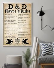 DND Players Rules 11x17 Poster lifestyle-poster-1
