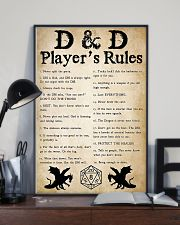 DND Players Rules 11x17 Poster lifestyle-poster-2