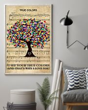 Autism I see your true colors and I love you 11x17 Poster lifestyle-poster-1
