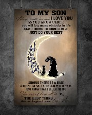 Family To My Son I Love You 11x17 Poster aos-poster-portrait-11x17-lifestyle-12