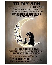 Family To My Son I Love You 11x17 Poster front