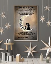 Family To My Son I Love You 11x17 Poster lifestyle-holiday-poster-1