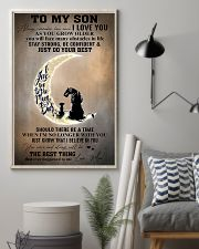 Family To My Son I Love You 11x17 Poster lifestyle-poster-1