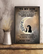 Family To My Son I Love You 11x17 Poster lifestyle-poster-3