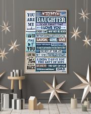 Family To My Daughter -  Dad 11x17 Poster lifestyle-holiday-poster-1