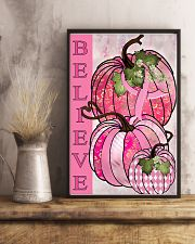 Breast Cancer Believe 11x17 Poster lifestyle-poster-3