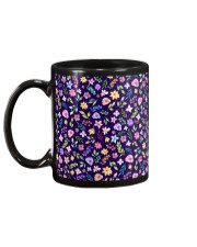 Nice Flowers Pattern Gift for wife mom dad sister Mug back