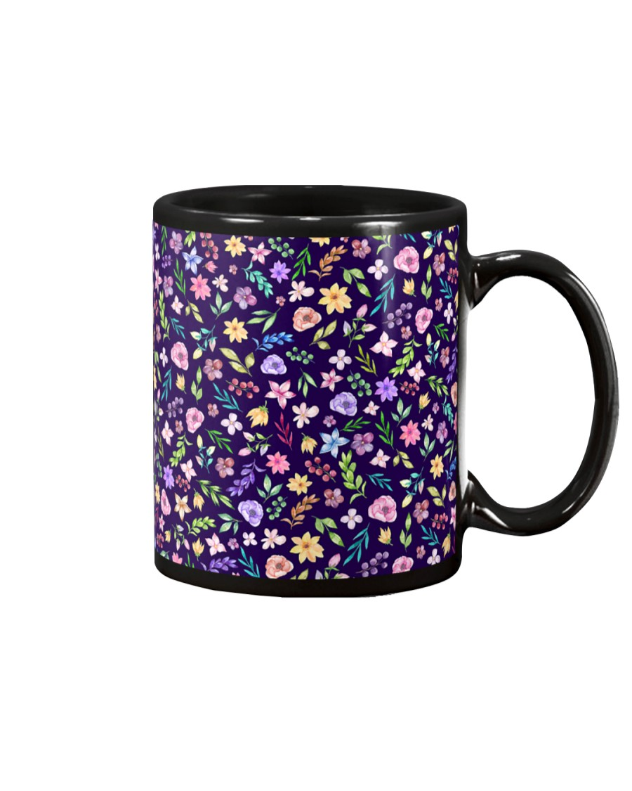 Nice Flowers Pattern Gift for wife mom dad sister Mug