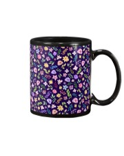 Nice Flowers Pattern Gift for wife mom dad sister Mug front