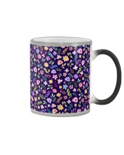 Nice Flowers Pattern Gift for wife mom dad sister Color Changing Mug thumbnail