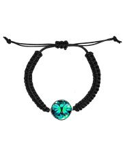 Heart Necklace Metallic  Cord Circle Bracelet thumbnail