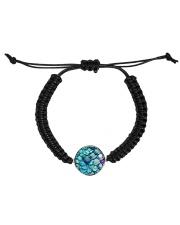 Cute Mermaid Scales Mausepad Cord Circle Bracelet thumbnail
