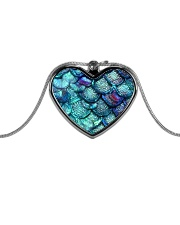 Cute Mermaid Scales Mausepad Metallic Heart Necklace thumbnail