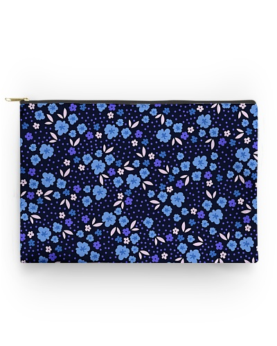Blue Flowers Pattern Gift for wife mom dad