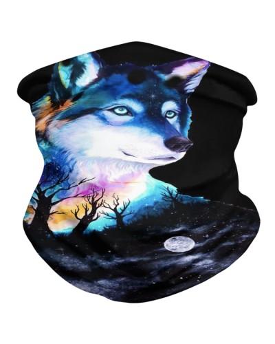 purple Wolf mask