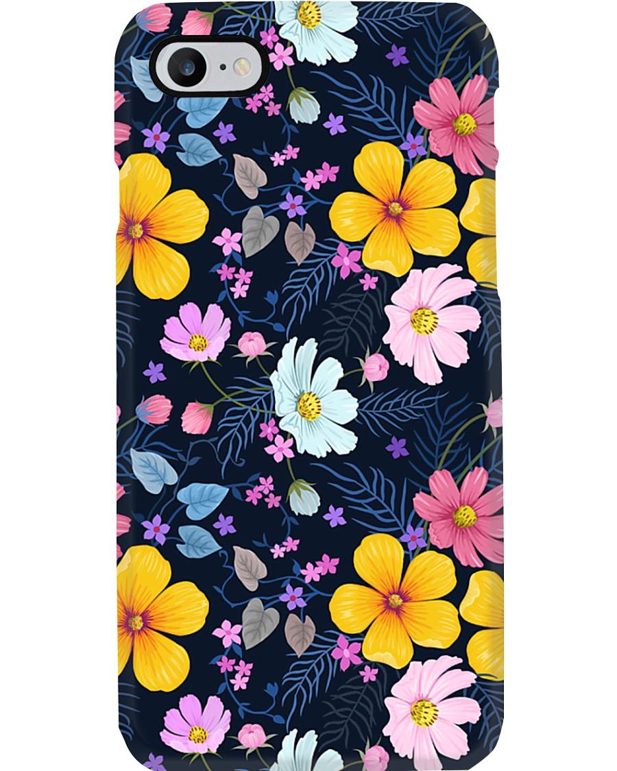 Flower mask Phone Case