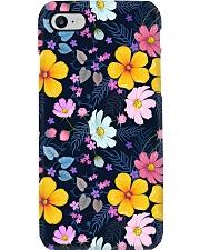 Flower mask Phone Case i-phone-7-case