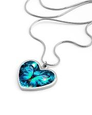 Heart Necklace Metallic  Metallic Heart Necklace aos-necklace-heart-metallic-lifestyle-05