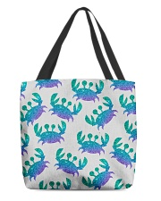Blue Sea Crab Mouse Pad All-over Tote thumbnail