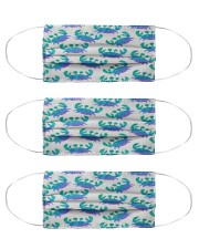Blue Sea Crab Mouse Pad Cloth Face Mask - 3 Pack thumbnail