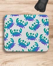 Blue Sea Crab Mouse Pad Mousepad aos-mousepad-front-lifestyle-1
