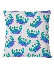Blue Sea Crab Mouse Pad Square Pillowcase thumbnail