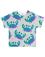 Blue Sea Crab Mouse Pad All-over T-Shirt thumbnail