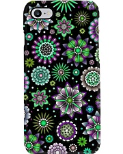 Doodle-Flowers-Pattern Phone Case thumbnail