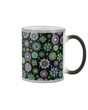 Doodle-Flowers-Pattern Color Changing Mug thumbnail