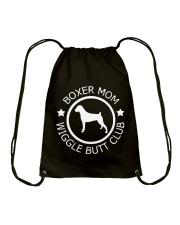 Limited Edition - Boxer Mom - Mother Days Gift Drawstring Bag thumbnail