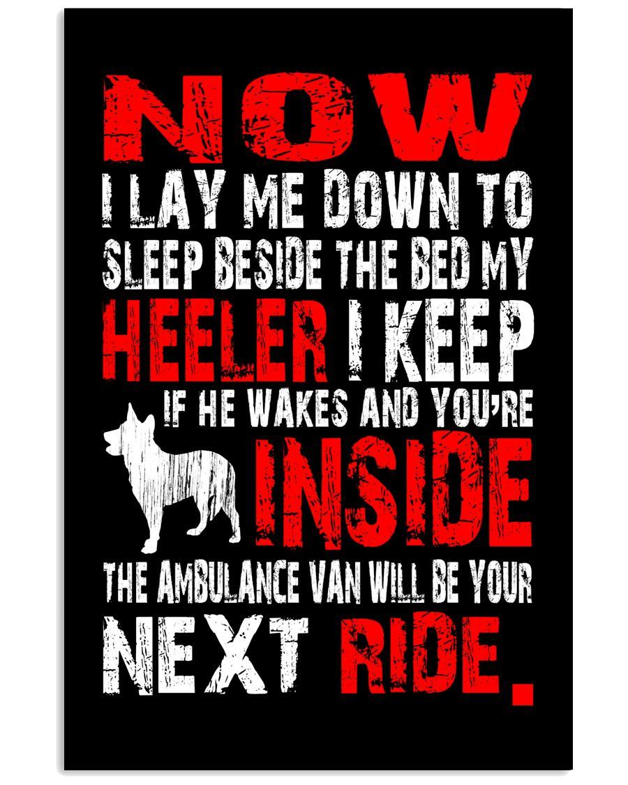 Limited Edition - Heeler Ambulance Van 16x24 Poster