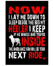 Limited Edition - Heeler Ambulance Van 16x24 Poster front