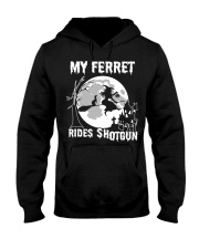 ferret Hooded Sweatshirt front