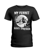 ferret Ladies T-Shirt thumbnail