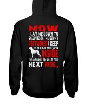Limited Edition - Rottweiler Ambulance Van Hooded Sweatshirt thumbnail