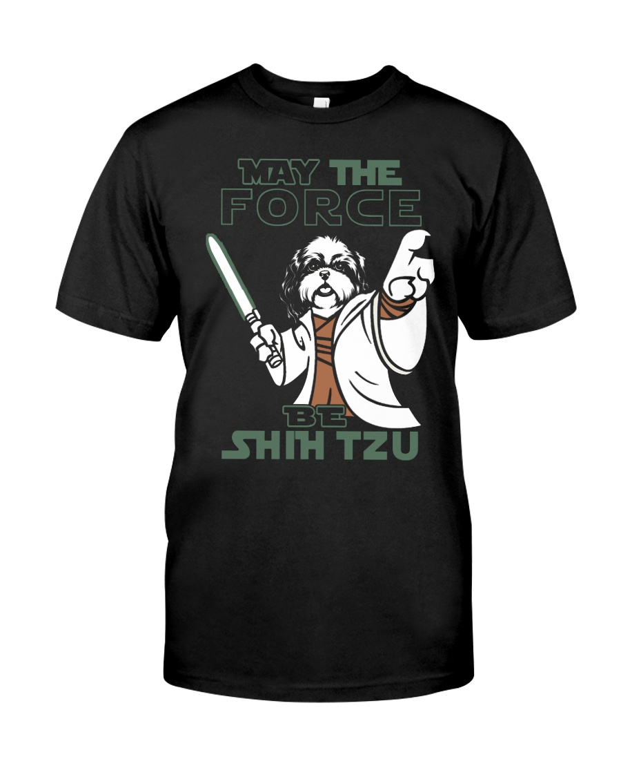 Limited Edition - Shih Tzu - The Force Classic T-Shirt