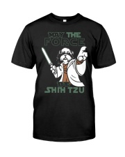 Limited Edition - Shih Tzu - The Force Classic T-Shirt front